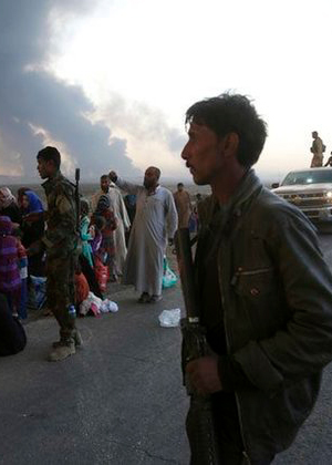 Battle For Mosul Overwhelms Efforts To Shelter Fleeing Civilians