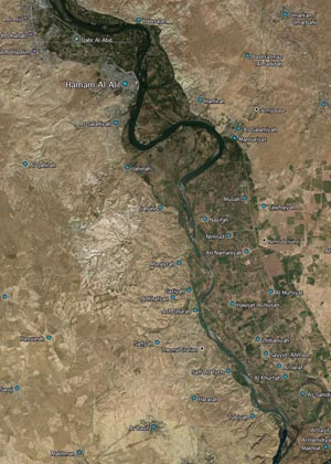 South of Mosul